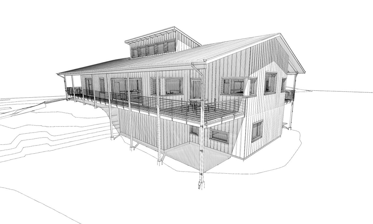 Farm + Forest Passive House