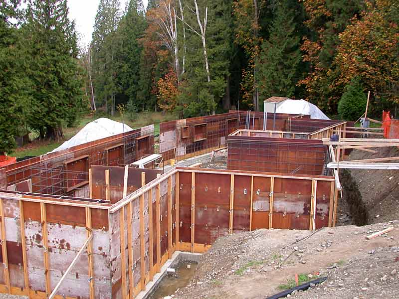 Harding Home Construction - Concrete Formwork