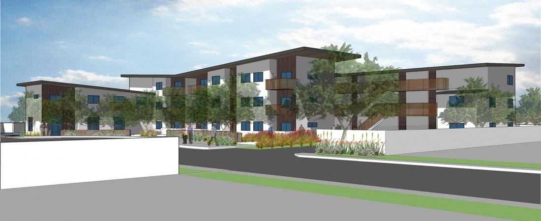 Rosewood affordable senior housing harrison architects for Harrison architects