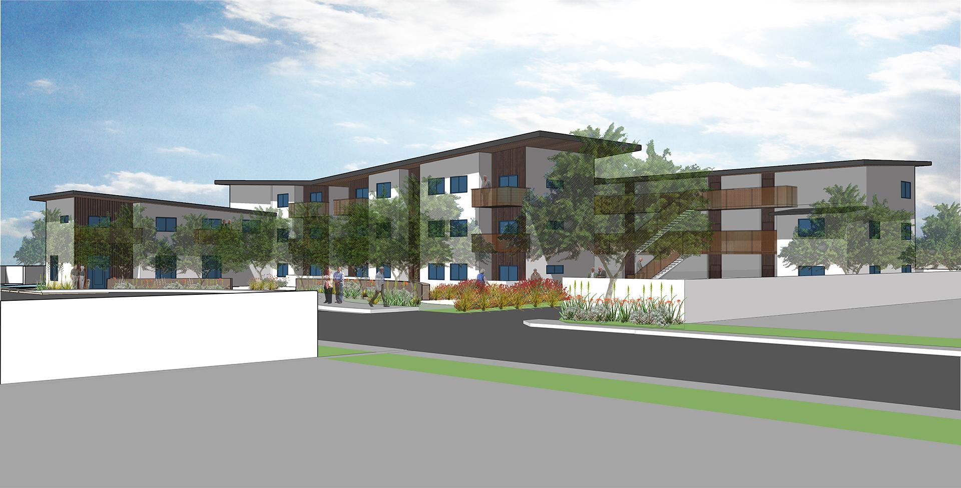Rosewood Affordable Senior Housing Harrison Architects